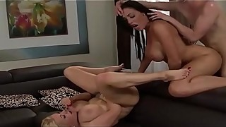 two busty friend share a lucky cock - club-ffm.com