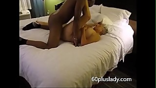 72 year old granny taking bbc while hubby recording