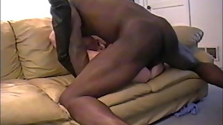 white wife in thigh boots pounded by bbc as hubby watches