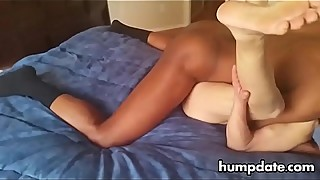 Asian cuckold can not compare with this big black cock