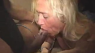 Hot Old Slut Loves It Nasty With BBC