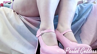 POV Sissy Cuck Foot Cleaning