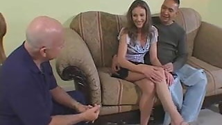 Mrs. Abbott Fucks Stranger As Hubby Watches