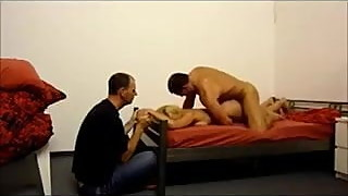 GERMANY and Hubby Helping Cuckold Wife