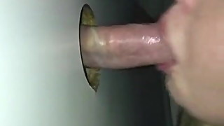 Girlfriend Sucking Stranger At Gloryhole