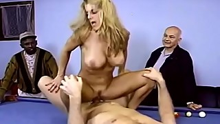 Closeup Swinger Trashy Blonde MILF