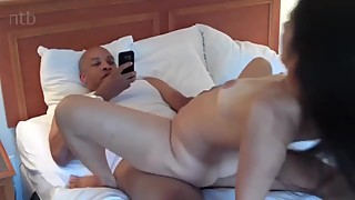 BBC fuck hotwife in hotel hubby records and cues