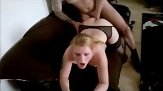 Hot cuckolding wife fucked like a doggy