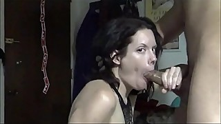 amateur milf sucks bbc &amp_ cum swallows