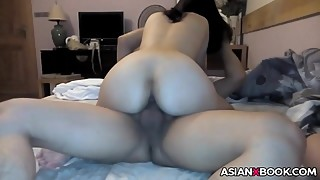 Asian Cuckold Films His Wife With Her Bull